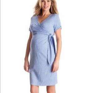 NWT Seraphine Polka Dot Maternity Dress